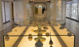 salles du musée de l'Institut du monde arabe