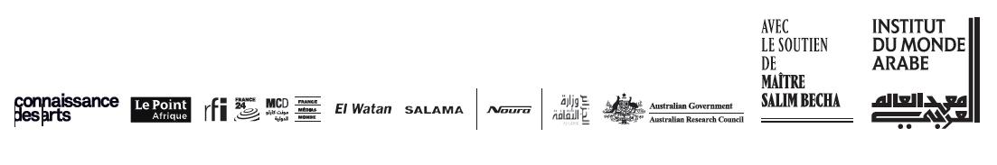 Partenaires de l'exposition Biskra à l'Institut du monde arabe