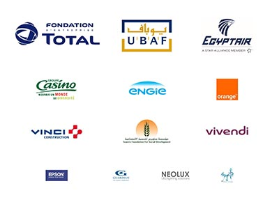 Logos Osiris, soutiens des rencontres économiques de l'IMA