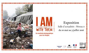 Exposition I AM with them Institut du monde arabe