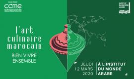 Colloque l'art culinaire marocain. Bien vivre ensemble