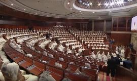 Maroc, ouverture de la session d'automne du Parlement.D.R..j
