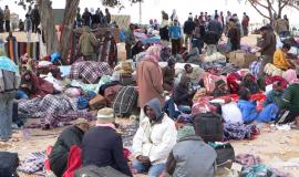 Le camp de réfugiés de Choucha (Tunisie) © Mohamed Ali Mhenni