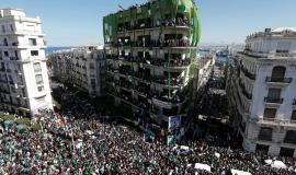 Manifestation à Alger,1er mars 2019 © Adjer