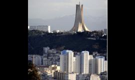 Sur les hauteurs d'Alger, le mémorial du Martyr D.R.