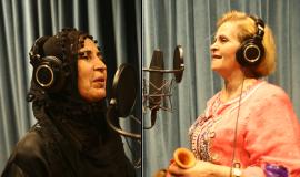 Khadija El Bidaouia et Khadija Margoum chantent la aïta