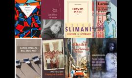 Rentrée littéraire 2016 sélection de la bilbiothèque de l'Institut du monde arabe