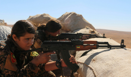 Combattantes Yézidi en Irak © Kurdishstruggle