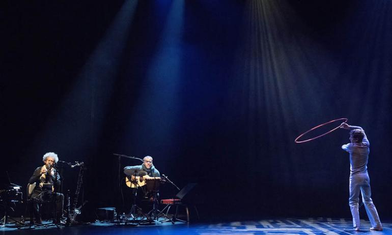 Raphaël Vuillard dans «Derviche », 3e Nuit de la poésie à l'IMA, novembre 2018
