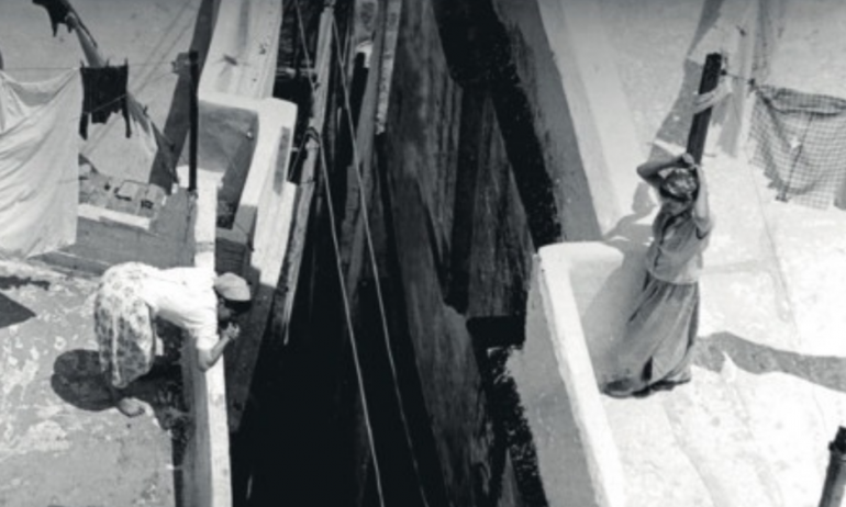 Dans la Casbah d'Alger en 1960. Alain Gedovius / Yves Robertet