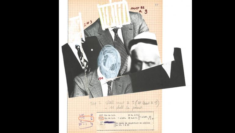 Bady Dalloul, The Arabian Canal Document (Qanat al Akhar), projet d'installation.© Dalloul