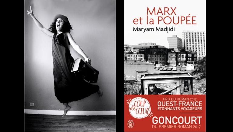 Maryam Madjidi (© Gregory Augendre-Cambon), auteur de Marx et la poupée