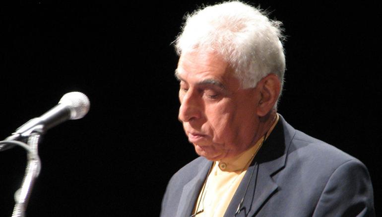 Le poète irakien Saadi Youssef (1934-2021). D.R.