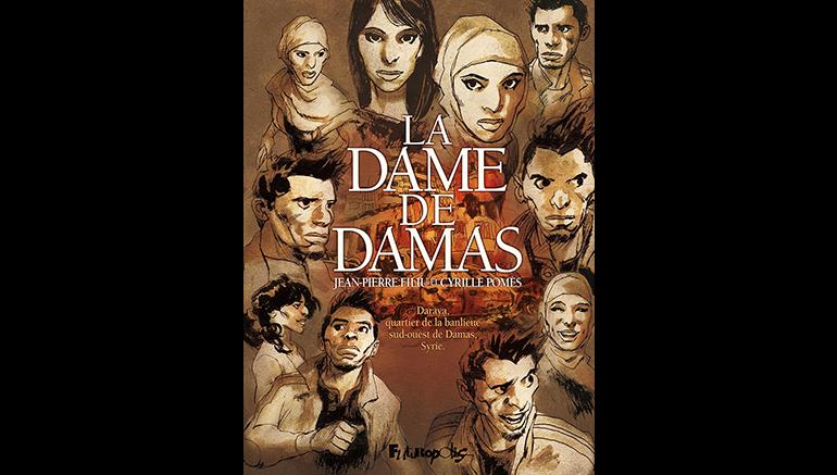 Coupe de coeur pour la BD la Dame de Damas sur le blog de l'IMA