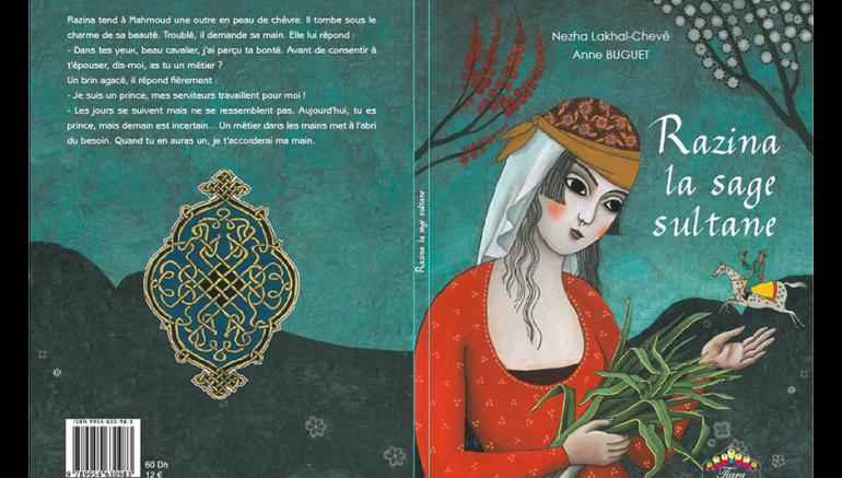 Coup de coeur pour l'album jeunesse Razina la sage sultane sur le blog de l'IMA