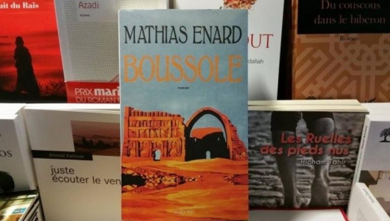 Attribution du Prix Goncourt à Mathias Énard pour son roman Boussole