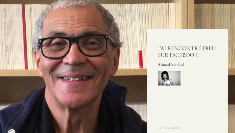 Ahmed Madani, auteur de « J'ai rencontré Dieu sur facebook » (Actes Sud, 2019)