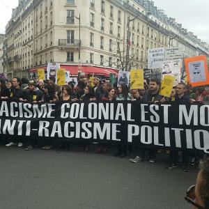 Marche pour la justice et la dignité et contre les violences policières © Trappy blog