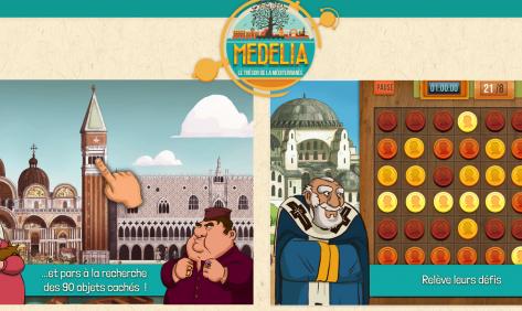 Jeu vidéo Medelia Institut du monde arabe