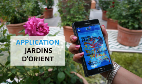 Application Jardins d'Orient