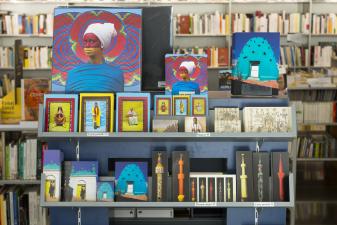 Boutique de l'Institut du monde arabe artisanat produits dérivés carterie