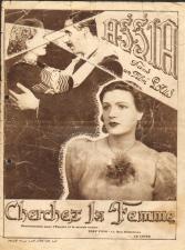 Affiche du film Cherchez la femme, de et avec Assia Dagher, 1939