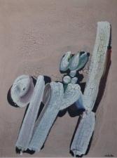 Hamed Abdalla (1917-1985) Al-Thawra_Révolution,  1968 (technique mixte sur toile, 130 x 97 cm.jpg