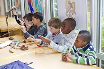 visites guidées pour les scolaires à l'Institut du monde arabe