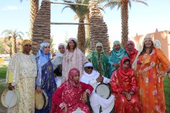 Le groupe algérien Lemma © Maya Ben