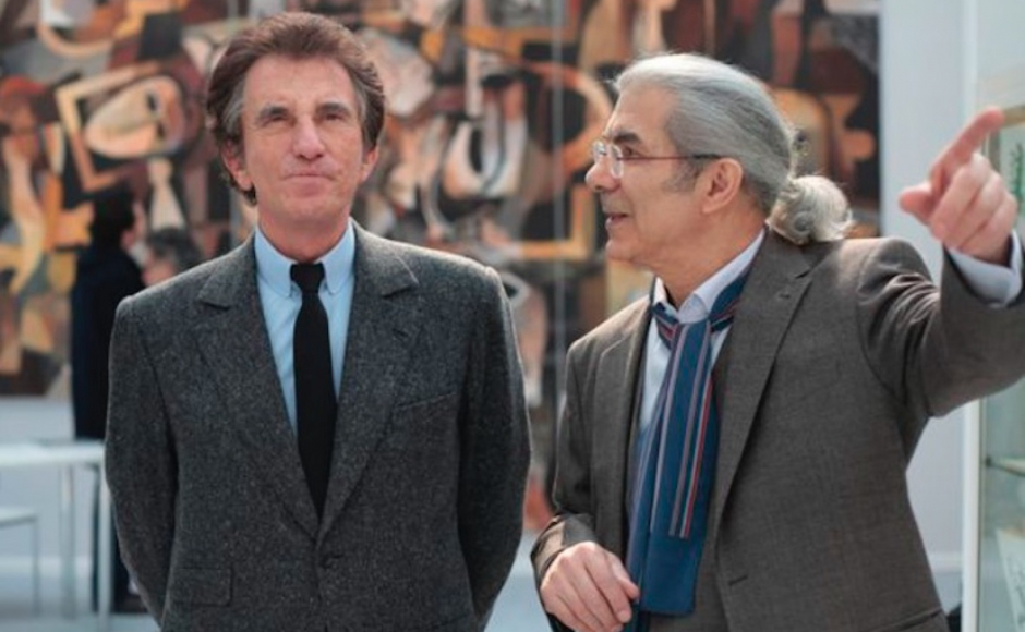 Jack Lang et Claude Lemand © Thierry Rambaud / MA