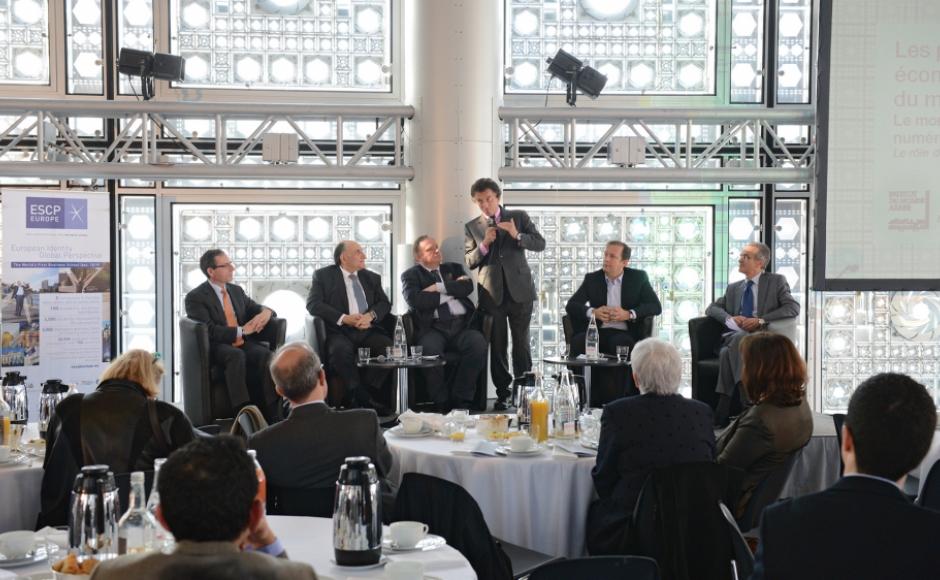 Rencontre économique à l'IMA mars 2014