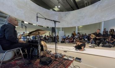 Mirage - Sarâb, performance de Nagham Hodaifa, Institut du monde arabe, 21 septembre 2019