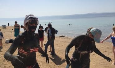 Bains de boue à la mer Morte.