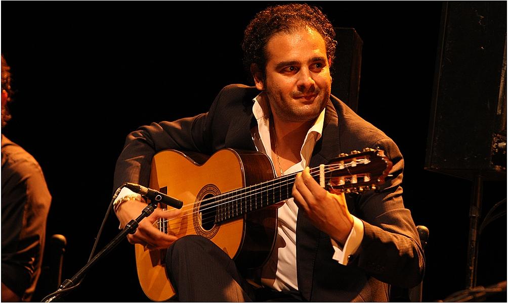 Spectacle de Diego del Morao à l'Institut du monde arabe à Paris