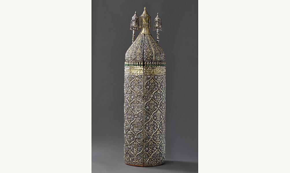 Torah Tik - Tik Zeh ve-Sefer Torah, Iraq, 1879-1880. © William L. Gross