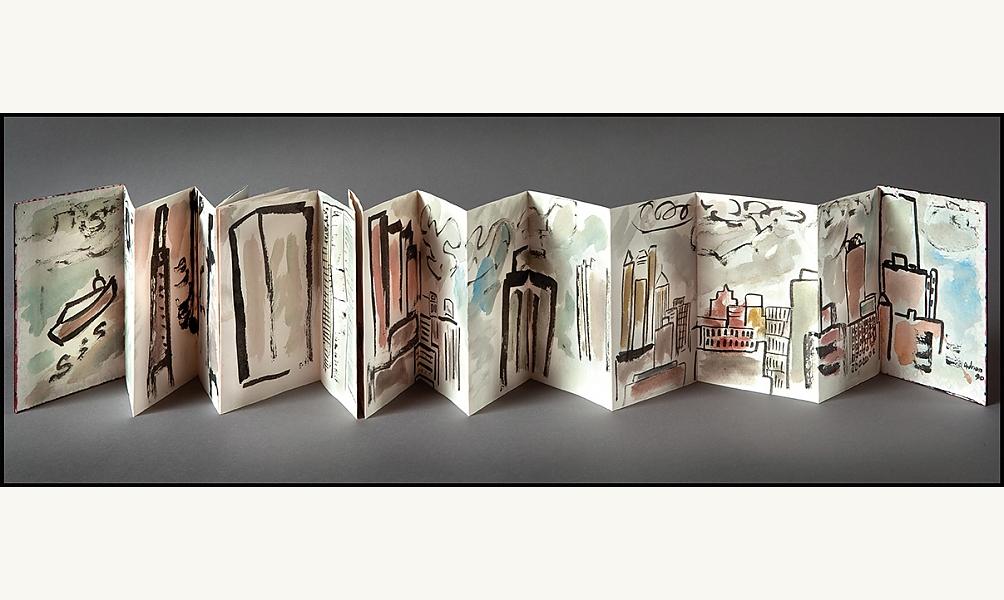 Etel Adnan : Le poème visuel Jeudis de l'IMA