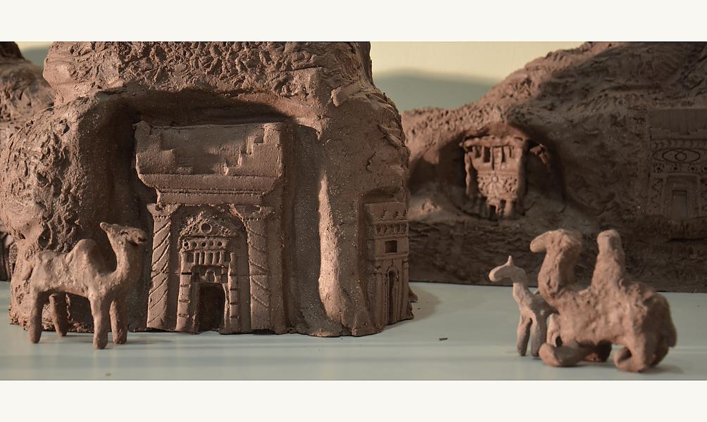 L'atelier de création « Les mains dans l'argile! », Institut du monde arabe, 12-13 octobre 2019