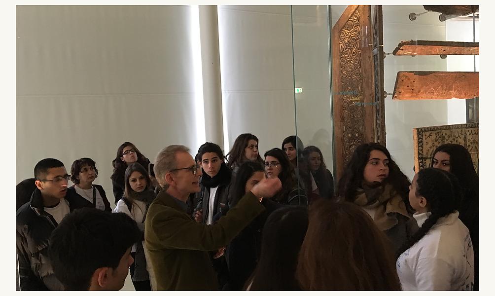 Visite à l'IMA d'un groupe de jeunes Israéliens et Palestiniens 23 février 2017