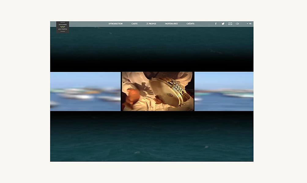 Les ports, de la Méditerranée à l'océan Indien, web-documentaire Sisygambis/IMA