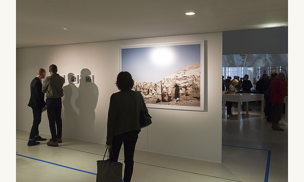 Last Water war, exposition à l'Institut du monde arabe janvier 2017