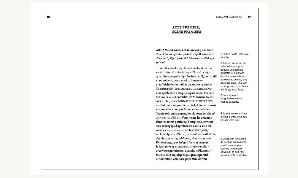 Projet d'éditions classiques par Joanna Starck