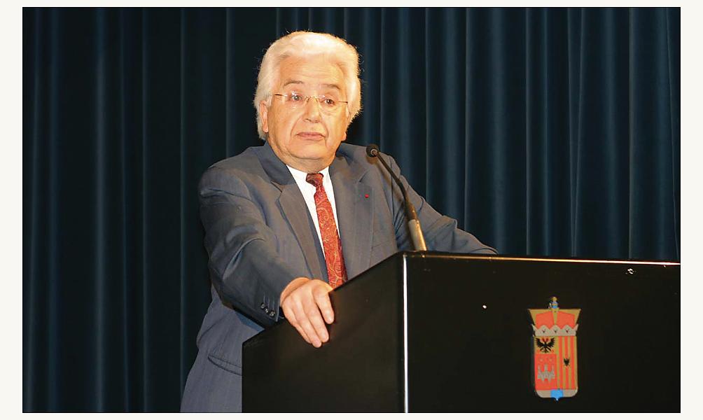 Le philosophe Mohammed Arkoun, auteur des Lectures du Coran