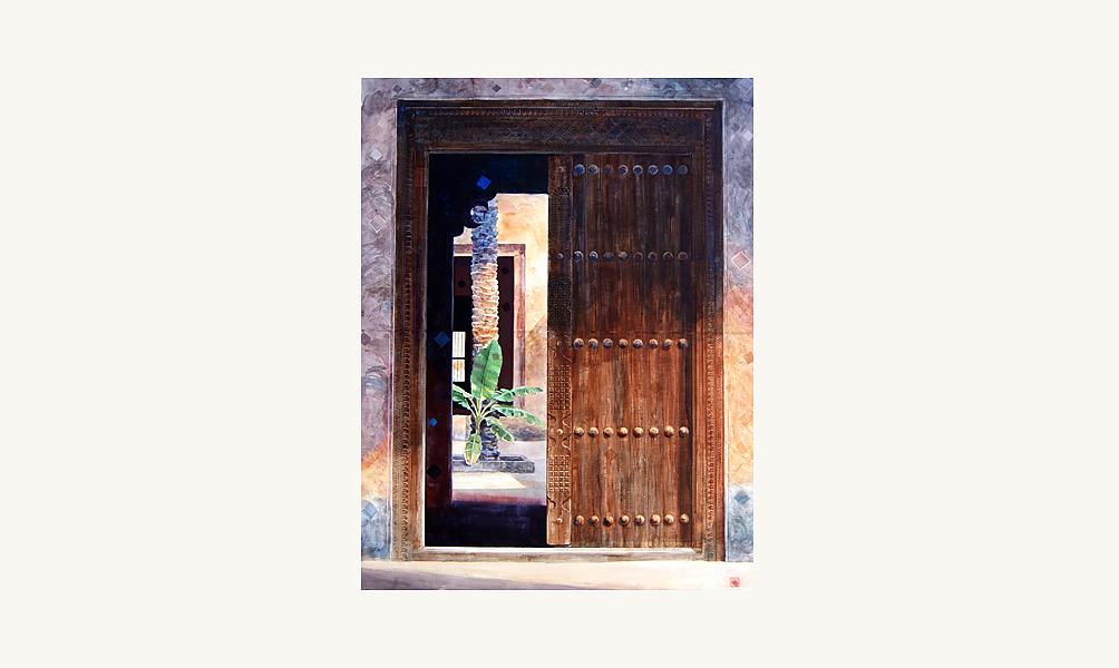 "Abdul Qader al Rais, ""from the Yesteryear series "", 2007"