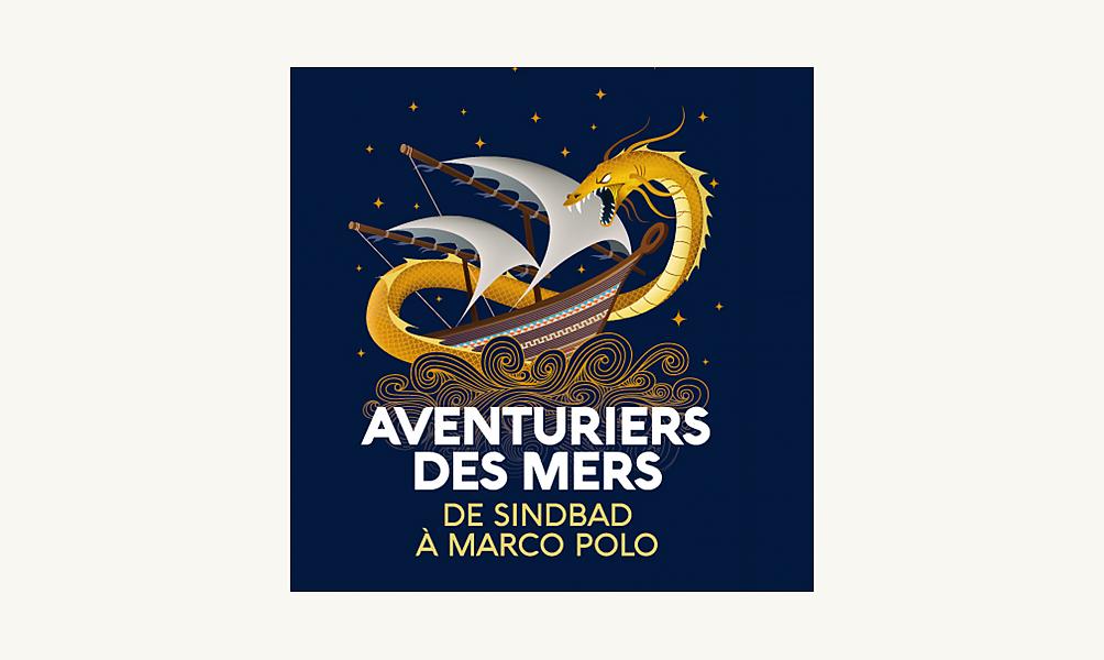 Affiche de l'expo Aventuriers des mers à l'IMA, auteur : AirBich