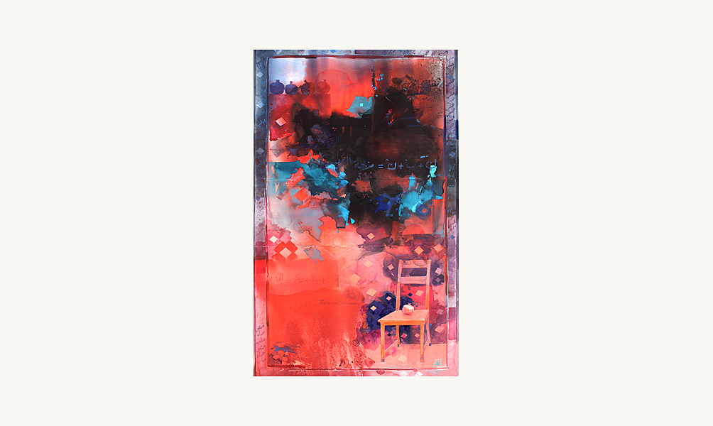 """Abdul Qader al Rais, """"The Chair """", 2012"""