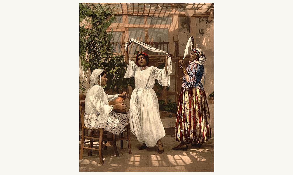 Danseuses d'Algérie © Library of Congress