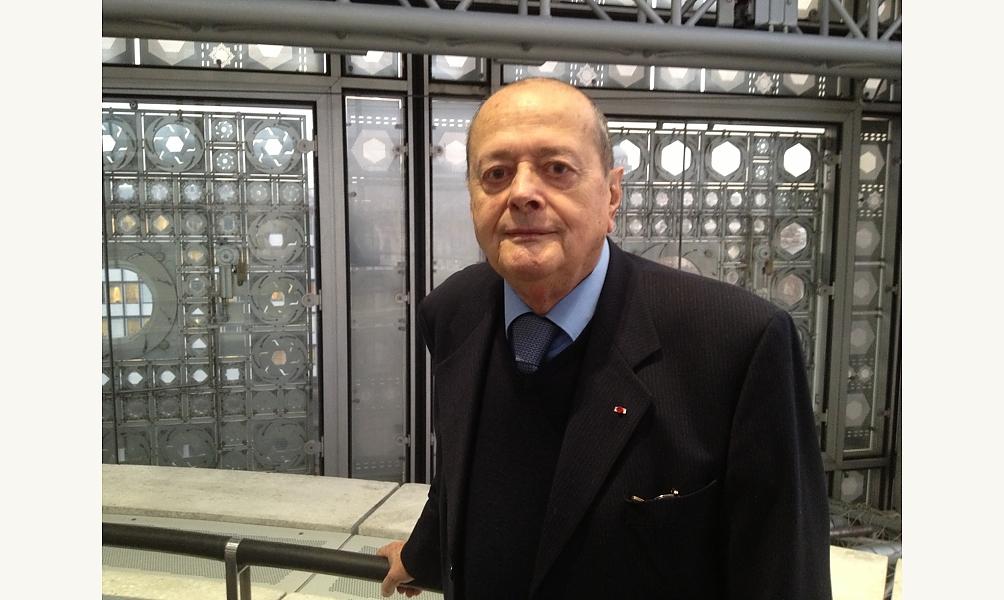 André Miquel à l'Institut du monde arabe © IMA