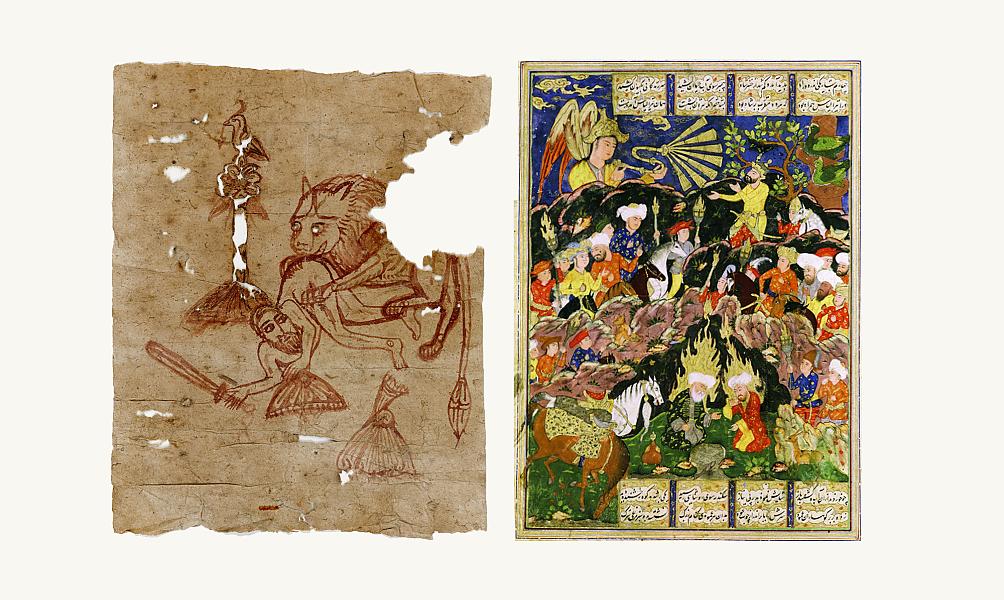 Exposition au musée de l'IMA « A la plume, au pinceau, au crayon » Dessins du monde arabe