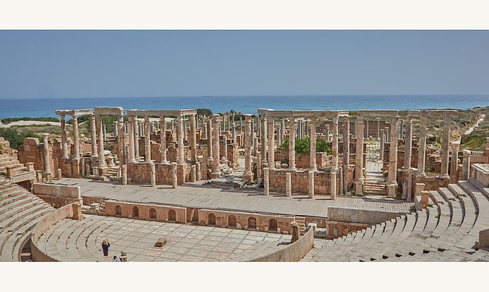 Leptis Magna Mossoul © Iconem