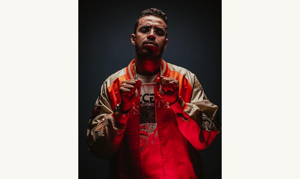 Le rappeur marocain Stormy D.R.